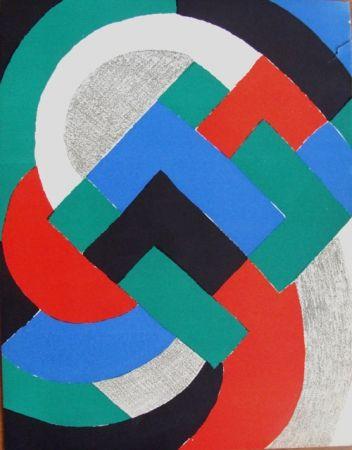 Lithograph Delaunay - Composition du XXe Siecle