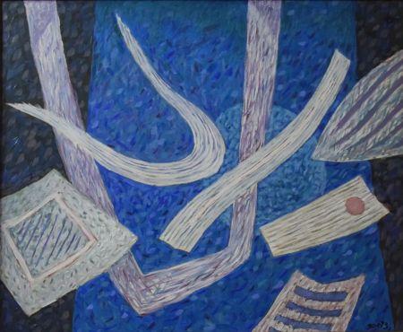 No Technical Goetz - Composition en bleu