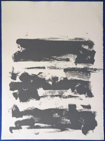 Lithograph Mitchell - Composition en gris
