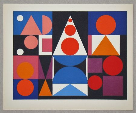 Screenprint Herbin - Composition Fer Acier