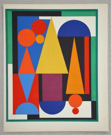 Screenprint Herbin - Composition Fleur Fruit