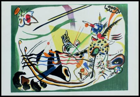 Lithograph Kandinsky (After) - COMPOSITION II