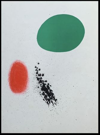 Lithograph Miró (After) - Composition II