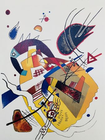 Lithograph Kandinsky - Composition II