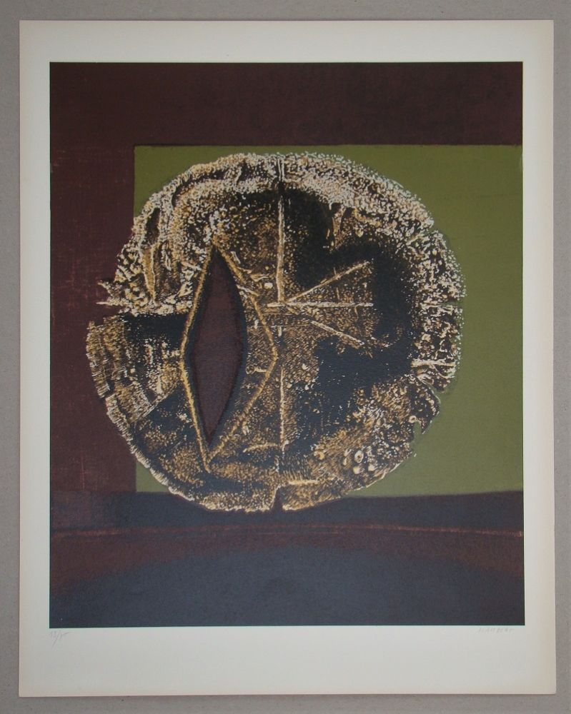 Screenprint Piaubert - Composition III. - 1964