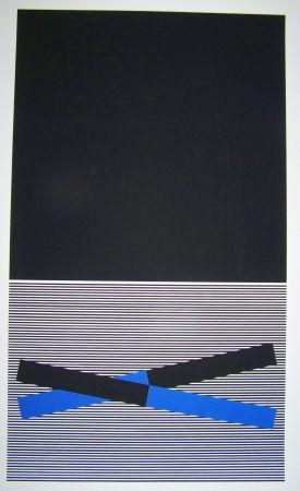 Screenprint Soto - Composition op art