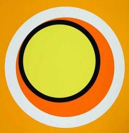 Screenprint Claisse - Composition orange
