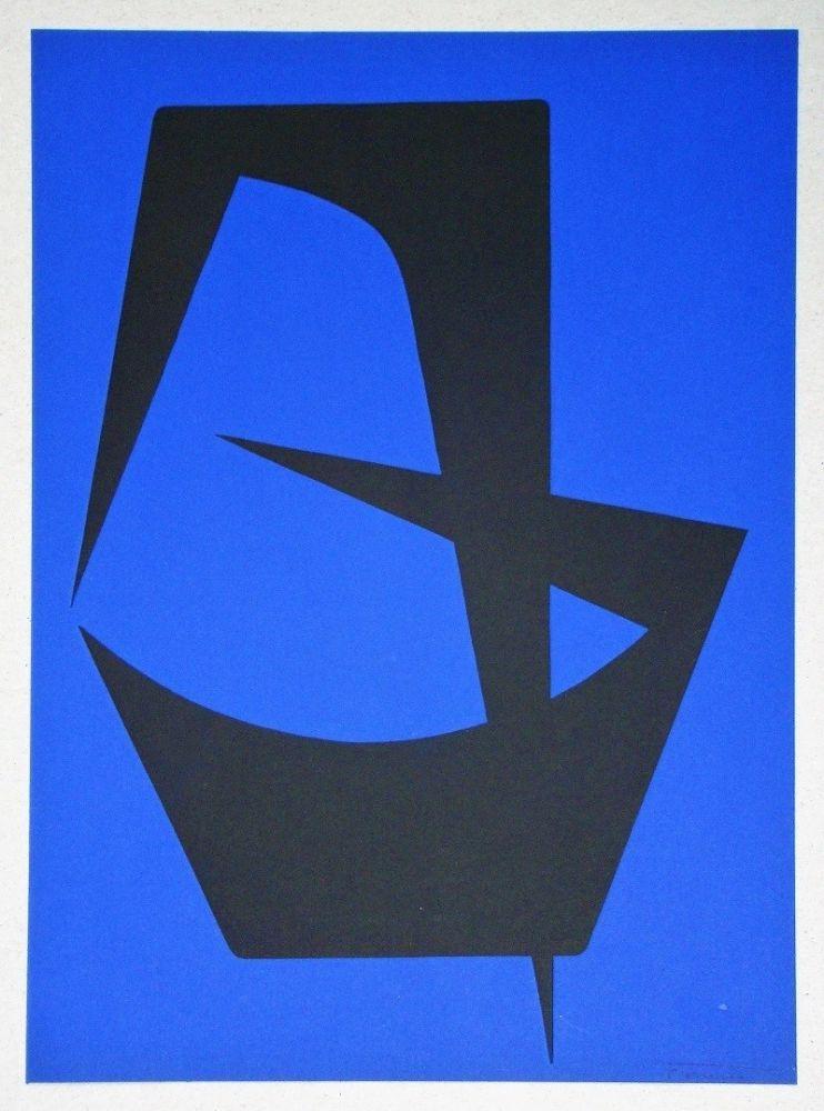 Lithograph Forani - Composition pour Art Abstrait