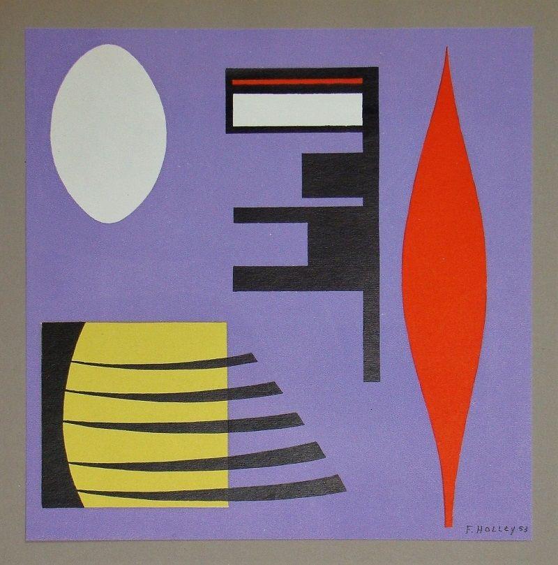 Lithograph Holley - Composition pour Art Abstrait