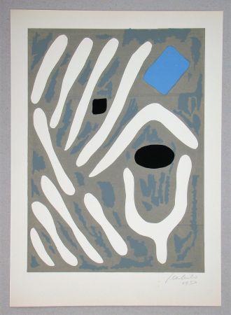 Lithograph Milo - Composition pour Art Abstrait
