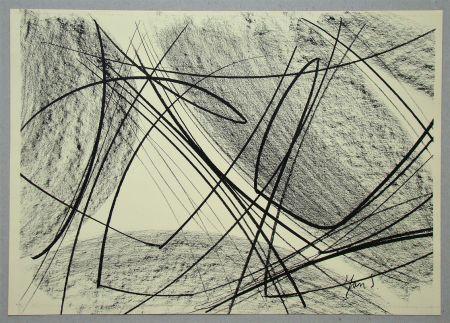Lithograph Saverys - Composition pour Art Abstrait