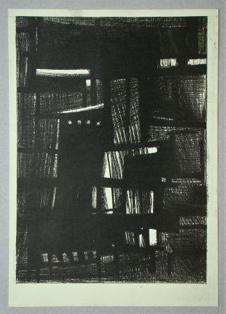 Lithograph Burssens - Composition pour Art Abstrait