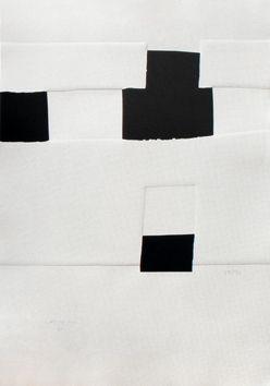 Screenprint Chillida - Composition pour les JO