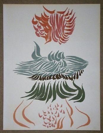 Lithograph Herold - Composition Pour Xxe Siècle