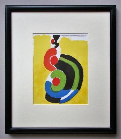 Lithograph Delaunay - Composition pour XXe Siècle