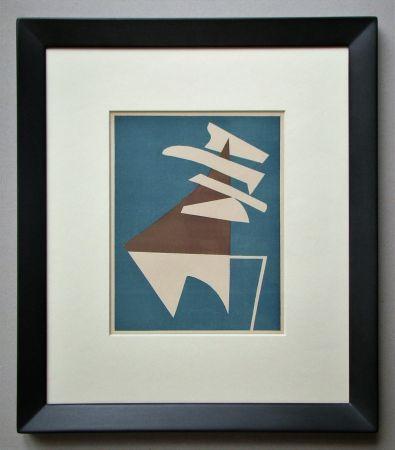 Lithograph Magnelli - Composition pour XXe Siècle