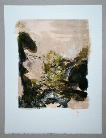 Lithograph Zao - Composition pour XXe Siècle