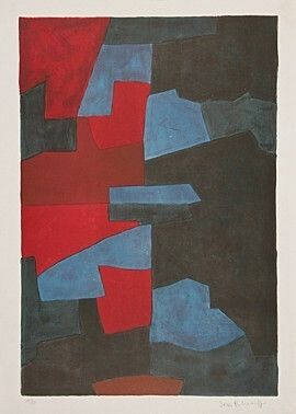 Lithograph Poliakoff -