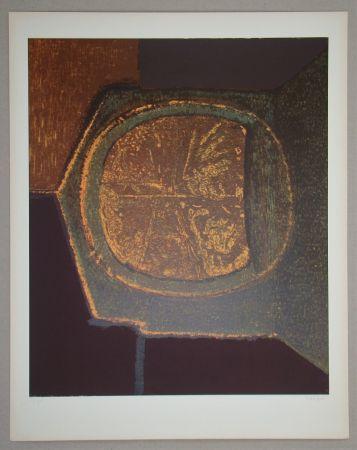 Screenprint Piaubert - Composition VI.-1964