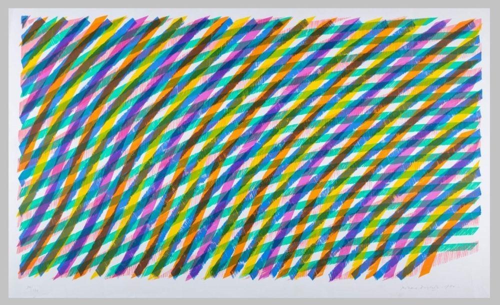 Lithograph Dorazio - Composizione