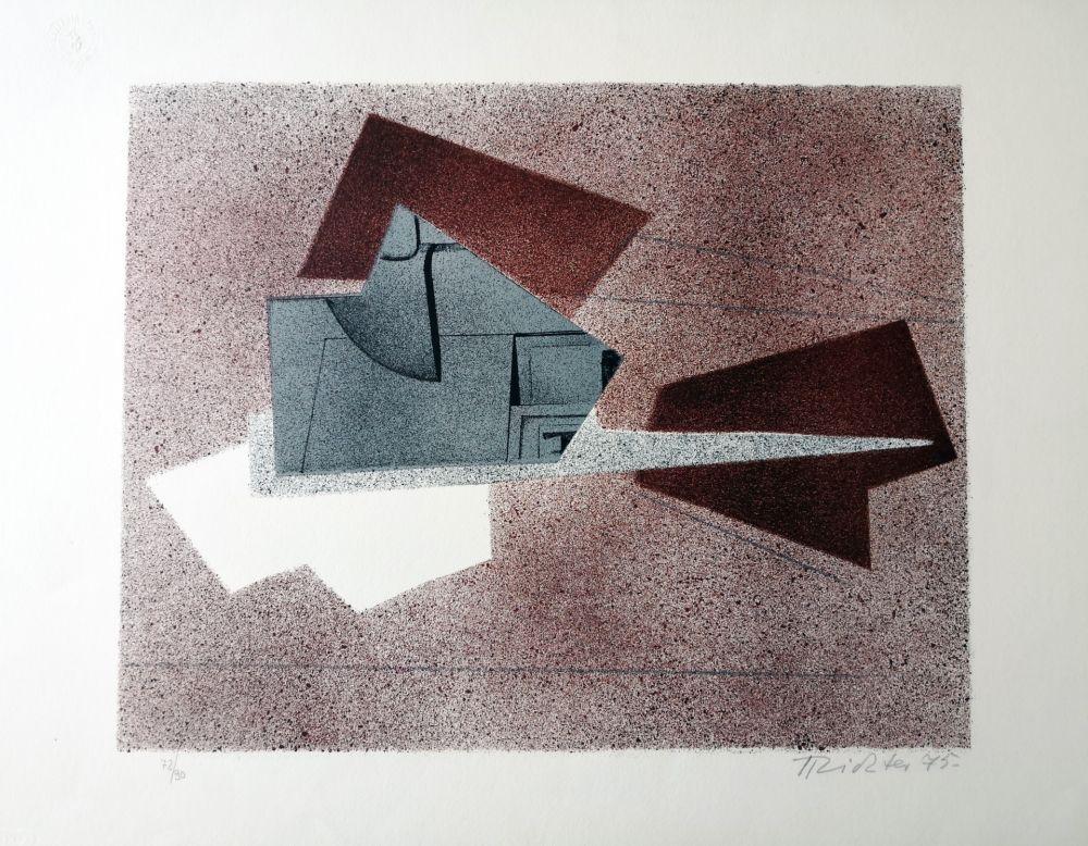 Lithograph Richter - Composizione