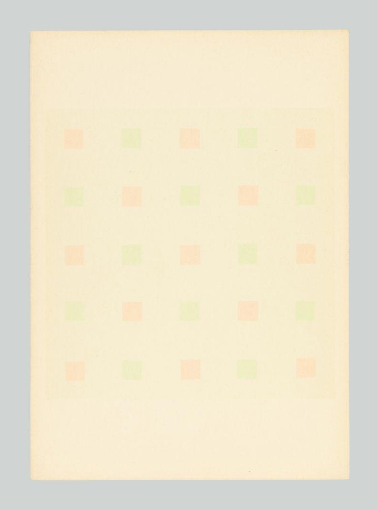 Screenprint Calderara - Composizione
