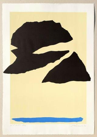 Lithograph Santomaso - Composizione