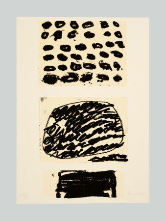 Lithograph Kounellis - Composizione