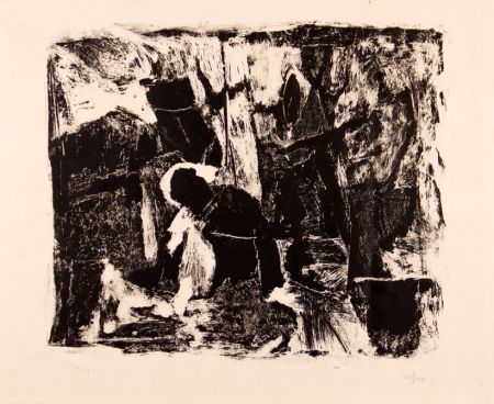 Etching And Aquatint Afro - Composizione