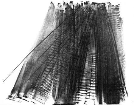 Lithograph Hartung - Composizione