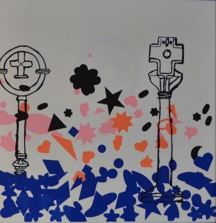 Lithograph Baj - Composizione