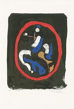 Lithograph Marini - Composizione