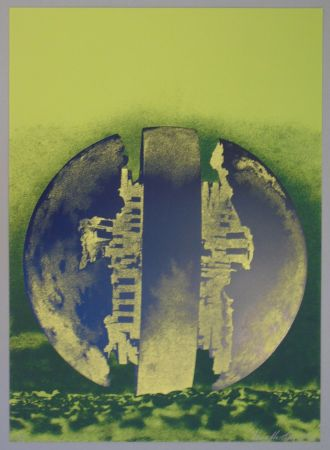 Lithograph Pomodoro - Composizione