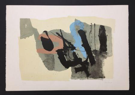 Lithograph Afro - Composizione - Le Due Ragazze, 1967