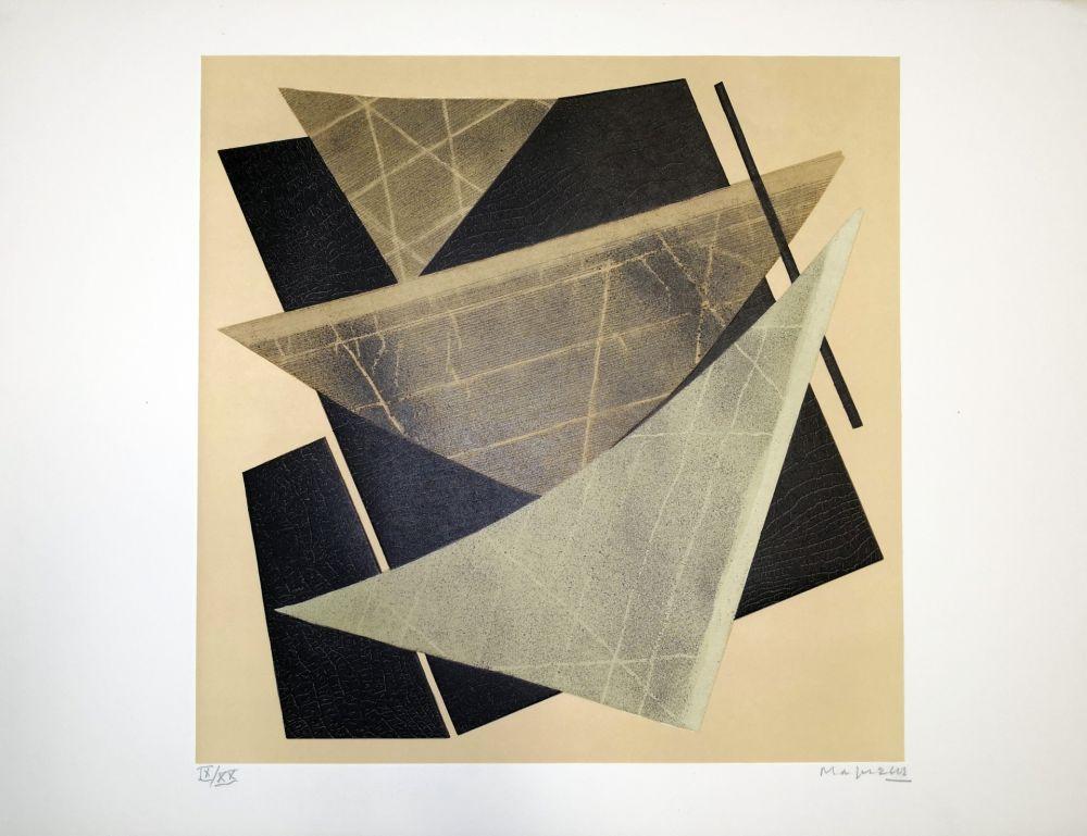 Lithograph Magnelli - Composizione 1