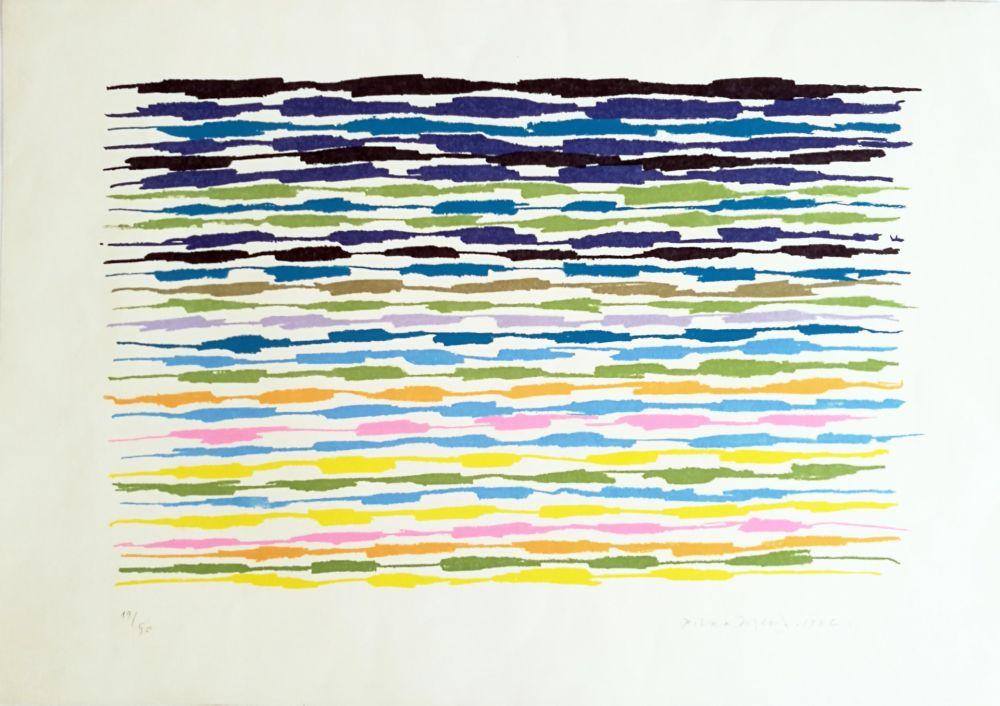 Lithograph Dorazio - Composizione 2