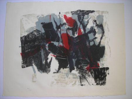 Lithograph Afro - Composizione II