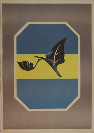 Lithograph Mattioli - Composizione in grigio