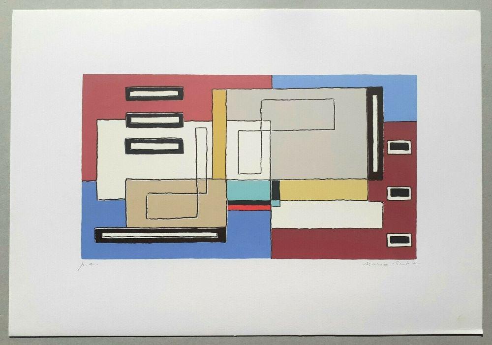 Screenprint Radice - Composizione Tav. 10