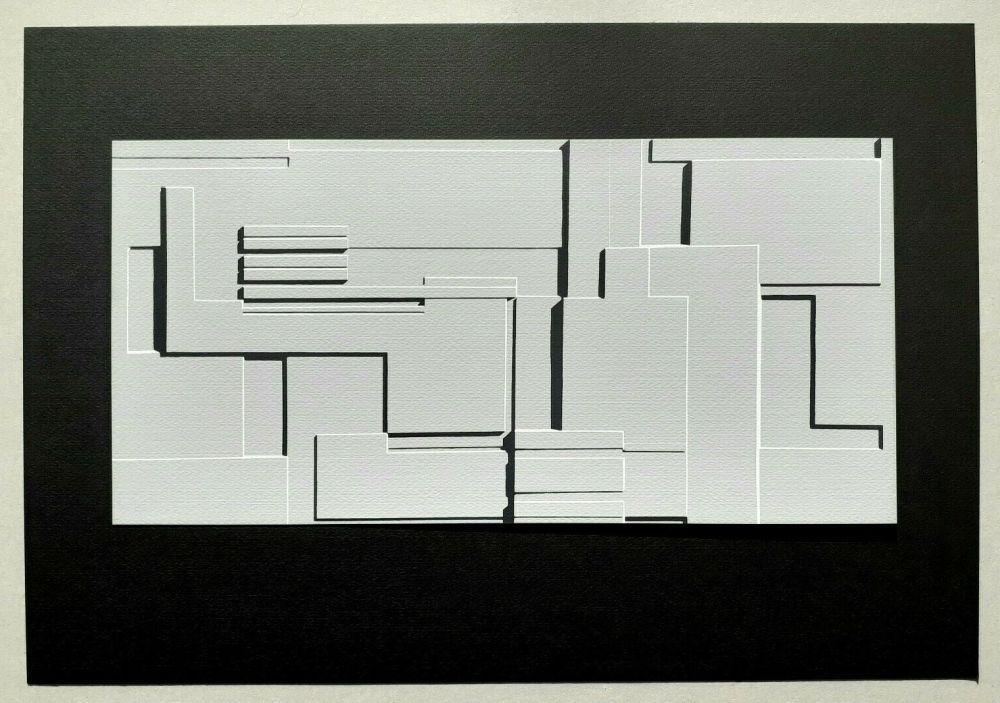 Screenprint Radice - Composizione Tav. 9