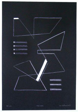 Screenprint Badiali - Composizione (tavola 10)