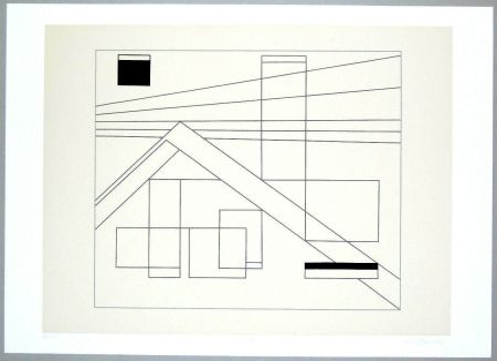 Screenprint Badiali - Composizione (tavola 4)