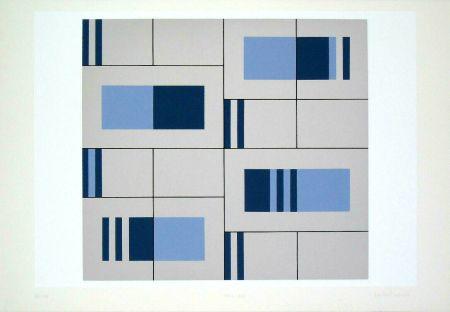 Screenprint Badiali - Composizione (tavola 9)