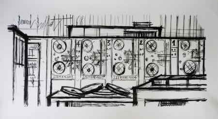 Lithograph Buffet - Computer, Siemens,