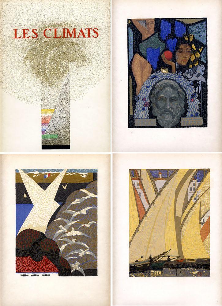 Illustrated Book Schmied - Comtesse de Noailles : LES CLIMATS. Société du Livre Contemporain (1924).
