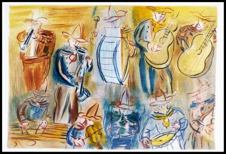 Lithograph Dufy - CONCERT DES ANGES