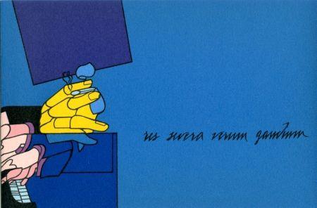 Lithograph Adami - Concerto à quatre mains