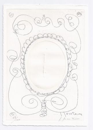 Etching And Aquatint Fontana - Concetto Spaziale, E-54