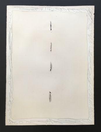 Aquatint Fontana - Concetto Spziale, 1966
