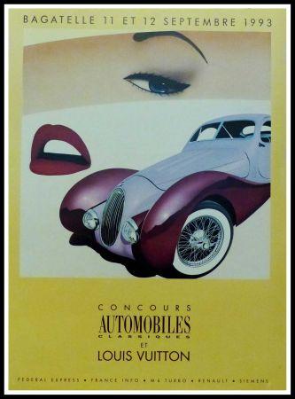 Poster Razzia - CONCOURS AUTOMOBILES CLASSIQUES